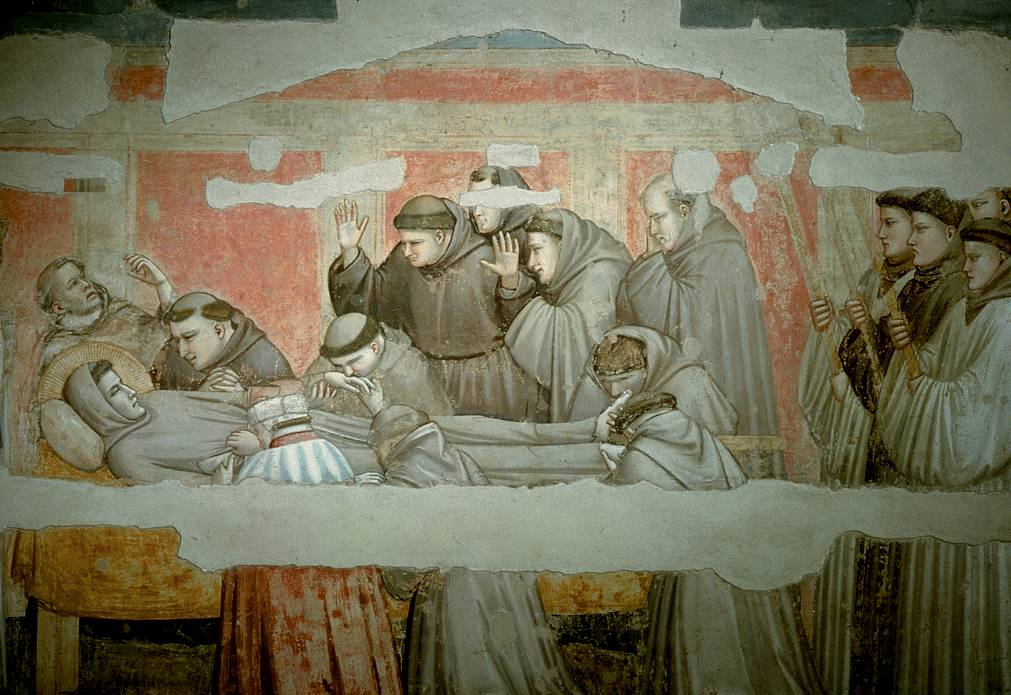 morte di san Francesco - Giotto