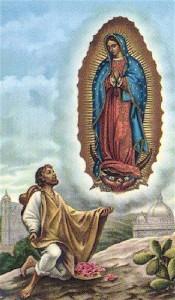 San Juan Diego_veggente Guadalupe