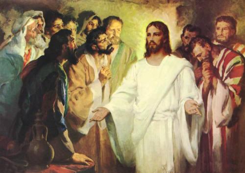 gesù risorto e i discepoli
